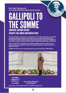 Gallipoli to Somme Poster